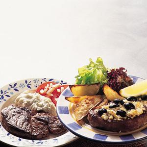 Græsk grillet kotelet