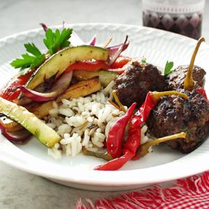 Græske kødboller med chili