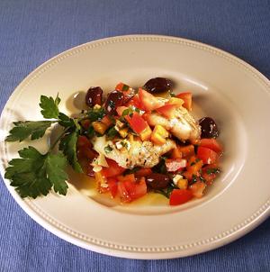 Havtaskekæber med peberfrugt