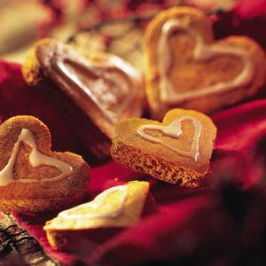 Hjertevarme honningehjerter