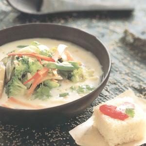 Kokossuppe fra Koh Samui