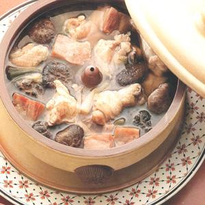 Kylling i yunnan-damppotte