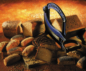 Let rugbrød med gær