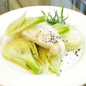 Stegt kyllingebryst med fennikel